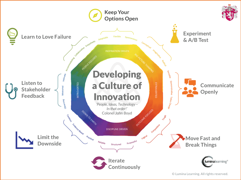 Lumina Learning Build a Culture of Innovation